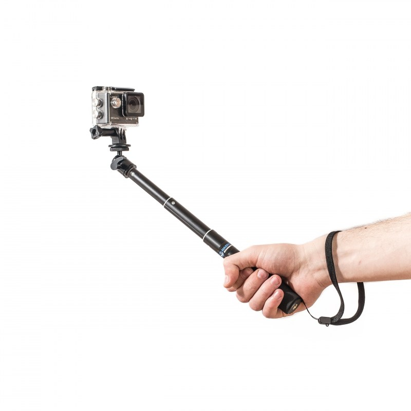 Monopod selfie PRO 52 cm czarny